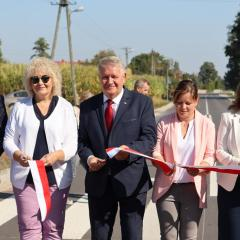 Droga Sadowne – Morzyczyn spełnieniem marzeń mieszkańców oraz władz samorządowych gminy Sadowne i powiatu węgrowskiego
