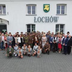 Inscenizacja wizyty Marszałka Józefa Piłsudskiego w Łochowie
