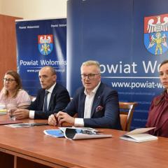 Rozmowy nt. rewitalizacji zabytków z terenu powiatu wołomińskiego