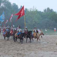 Husarzy znów zwyciężyli w Pułtusku