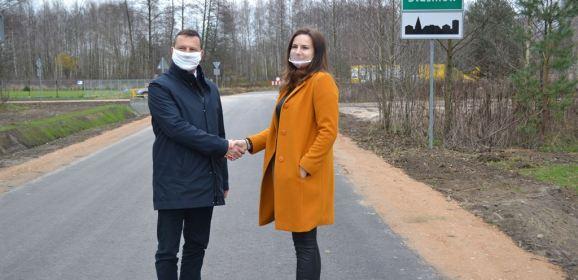 Zakończono budowę drogi gminnej w Stasinowie