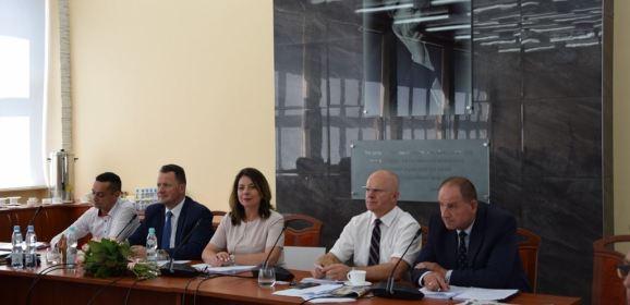Podsumowanie dwóch lat pracy Zarządu Powiatu Węgrowskiego