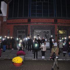 Kolejny protest w Wyszkowie. Obrońcy wystraszyli protestujących?