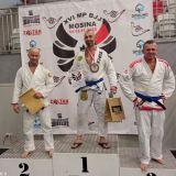 Mistrz Polski w brazylijskim jiu-jitsu wśród ostrowskich policjantów
