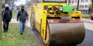Trwa remont ul. Kardynała Wyszyńskiego w Radzyminie