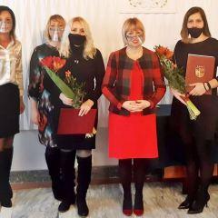 Uroczyste wręczenie Aktów Nadania Stopnia Awansu Zawodowego nowym nauczycielom mianowanym w Ząbkach