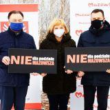 Samorządowcy z Wołomina, Radzymina i Tłuszcza przeciwni podziałowi Mazowsza!