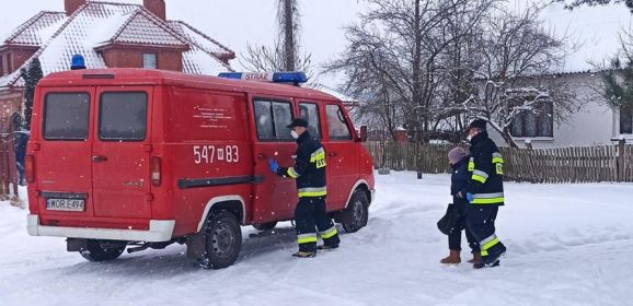 Strażacy OSP Zaręby Kościelne wspierają Narodowy Program Szczepień