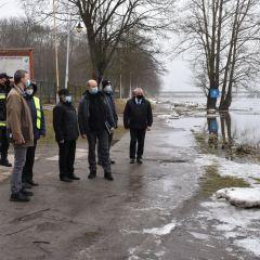 Pełna gotowość i deklaracja wsparcia – wizyta Wojewody Mazowieckiego Konstantego Radziwiłła w Wyszkowie