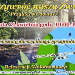 Sprzątanie lasu
