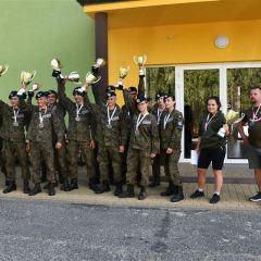 """III Turniej Klas Mundurowych """"Wdzięczni Bohaterom – Żołnierzom Niezłomnym""""  – Licea Mundurowe PUL na podium!!!"""