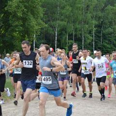 VIII Bieg Grzymały i IV Marsz Nordic Walking
