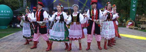 Dożynki Powiatu Węgrowskiego w Łochowie
