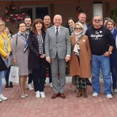 Delegacja Kobyłki z wizytą studyjną w Józefowie na Lubelszczyźnie