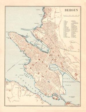 bergen bykart 1915