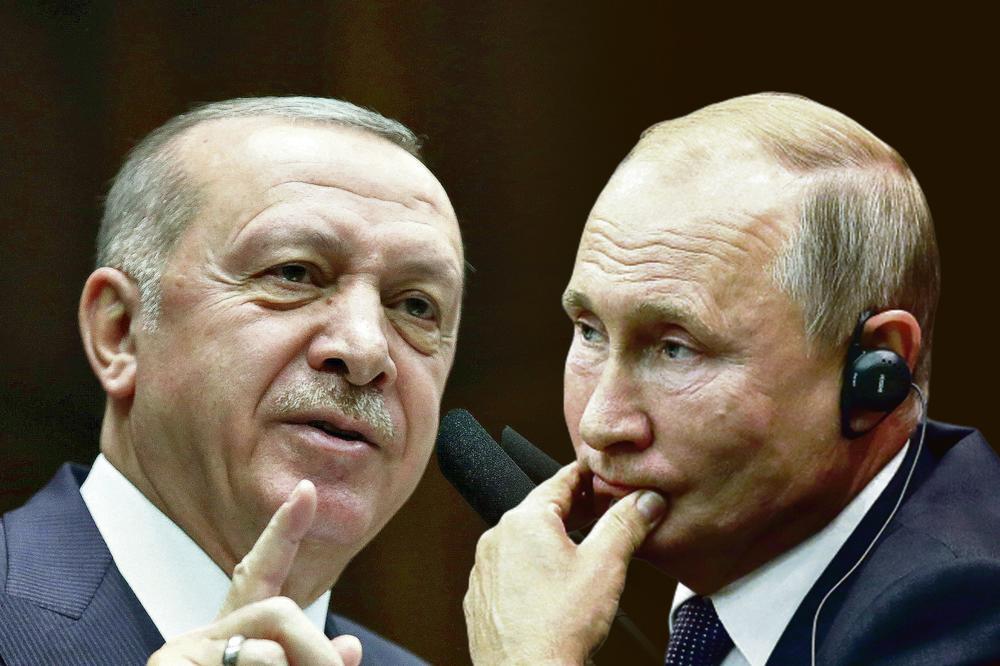 NAPETOST IZMEĐU TURSKE I RUSIJE! Erdogan poručio: Putine, skloni se s puta!