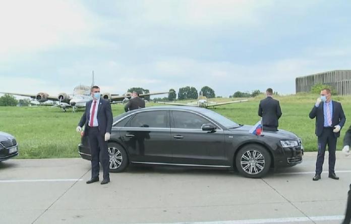 LAVROV STIGAO U BEOGRAD: Evo kako je dočekan šef ruske diplomatije 2