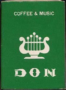 音楽喫茶ドンのマッチB
