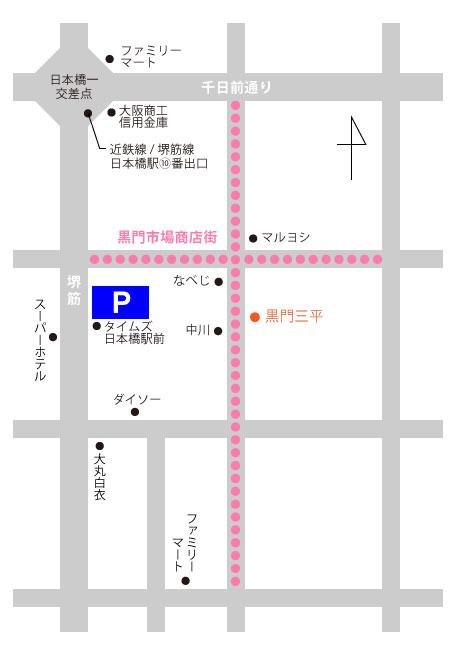 kuromon-ichiba_map