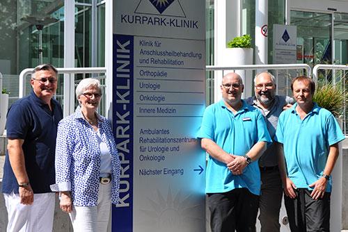 Auftakt der neuen Informationsreihe vom Netzwerk-Osteoporose e. V. in der Kurpark-Klinik
