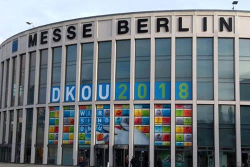 Bild der Messe Berlin / DKOU 2018