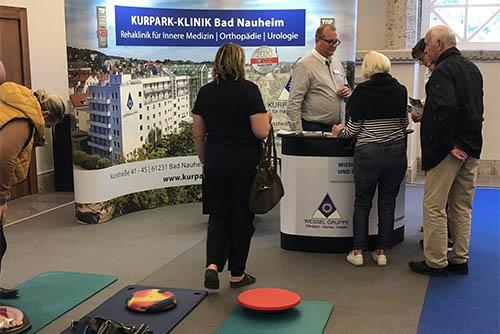 Stand der Kurpark-Klinik auf dem Gesundheitstag Bad Nauheim 2019