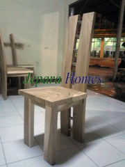 Toko Furniture Kursi Makan Model H VC92 Stainless