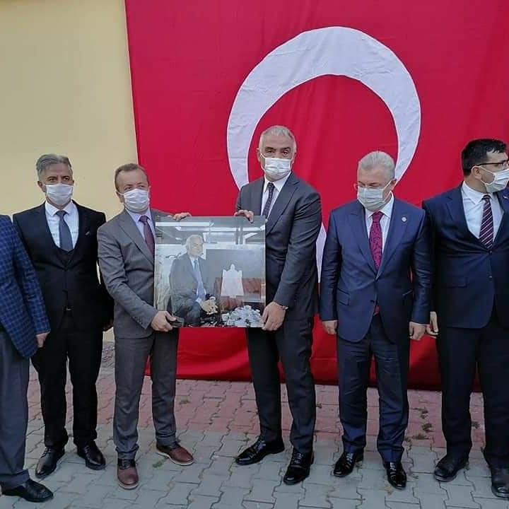 Kültür ve Turizm Bakanı'mız Sn. Mehmet Nuri Ersoy'un ziyareti