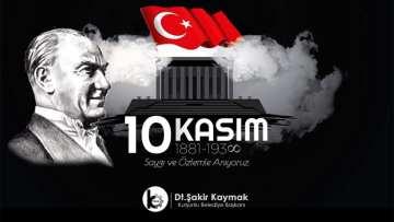 10 KASIM Gazi Mustafa Kemal Atatürk'ü Anma Günü
