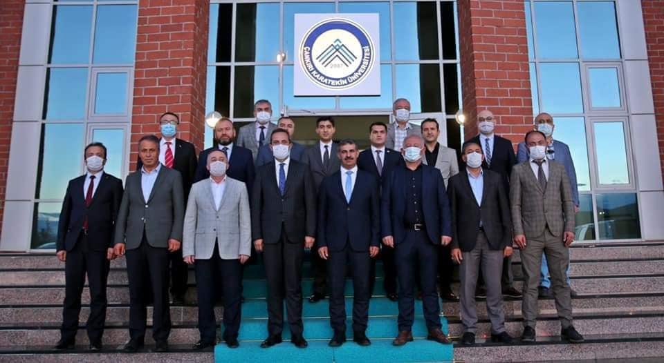 Çankırı Karatekin Üniversitesi istişare toplantısı