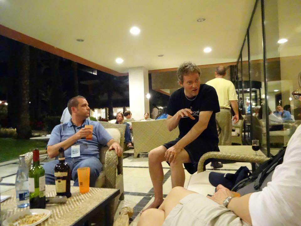 Talking in Spain