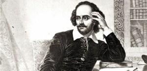 1564-1616 englischer Dichter.Bedeutendster Dramatiker der Weltliteratur.CDV-Foto 5,4 x 8,3 cm, nach einem Gemälde, Nr.1198.