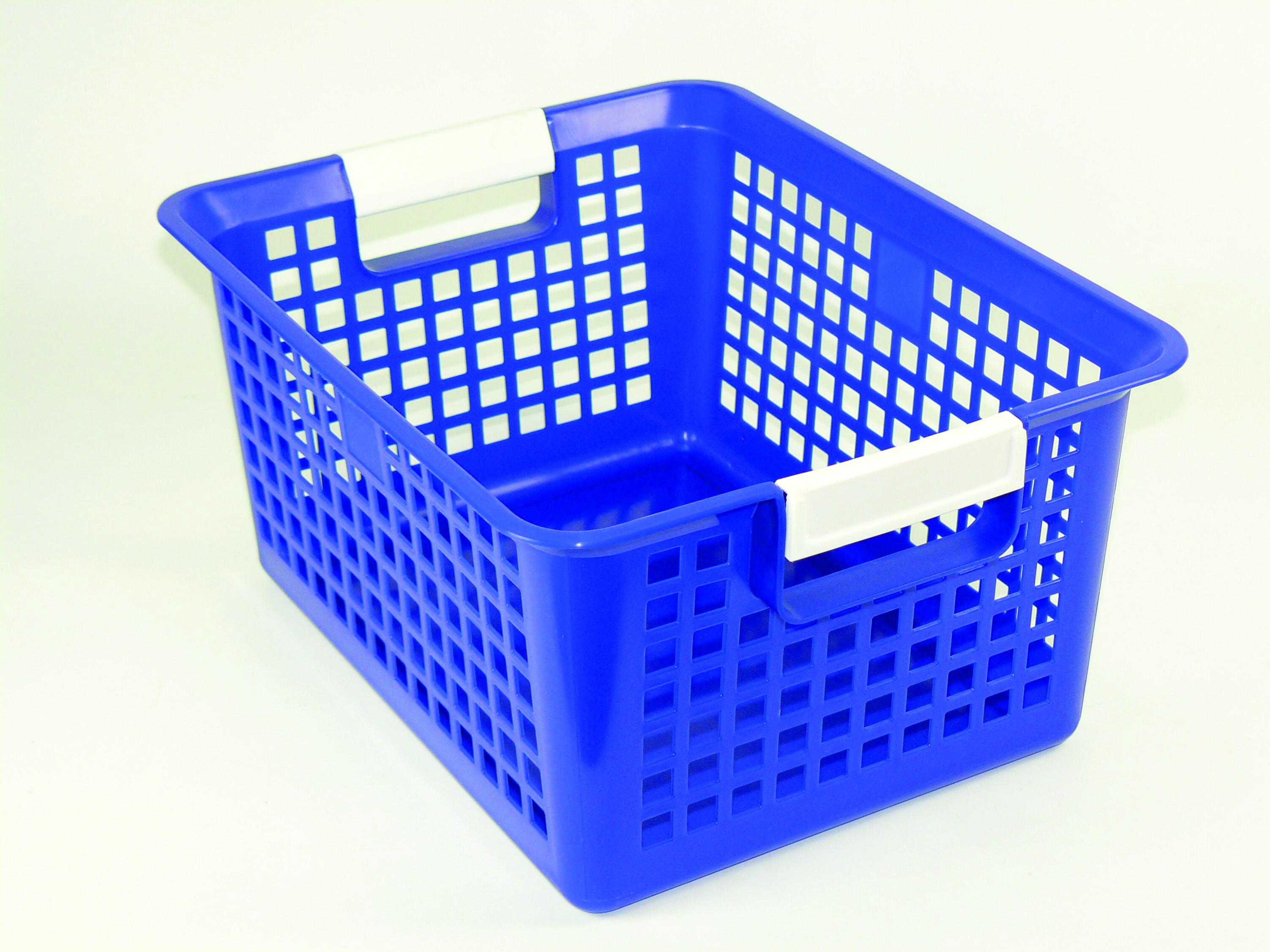 Kurtz Bros Storage Baskets With Label Holder