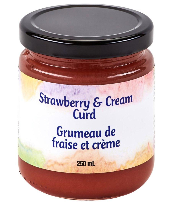 strawberries cream
