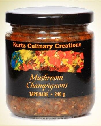 Mushroom Tapenade