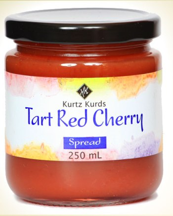 Tart Red Cherry Curd