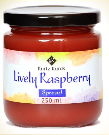 Lively Raspberry Curd
