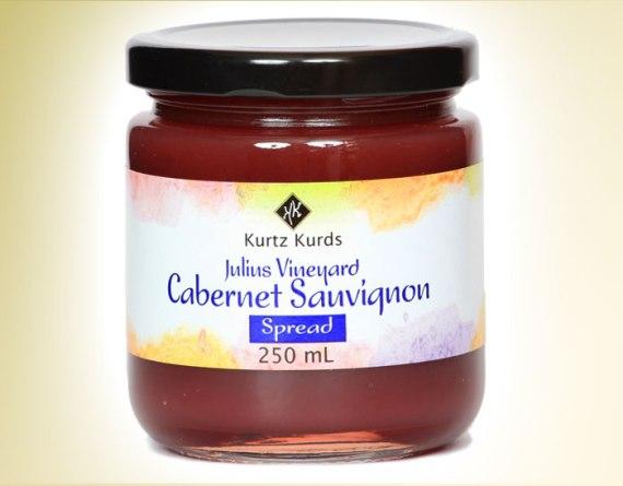 Cabernet Sauvignon Curd