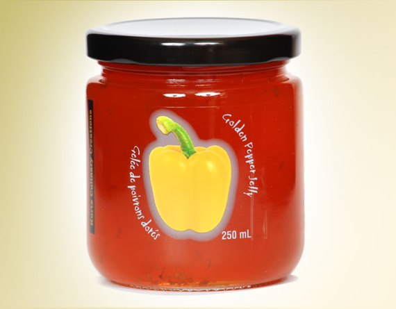 Golden Pepper Jelly