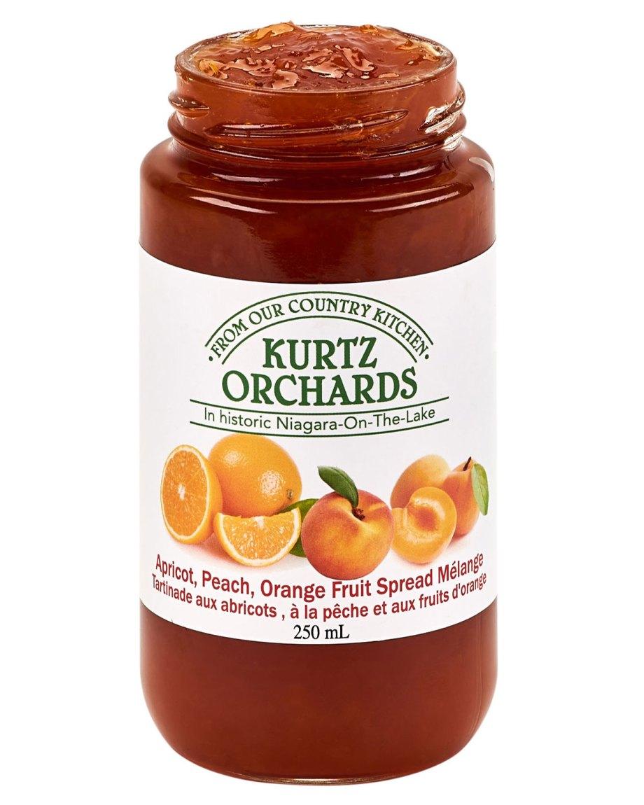 Apricot, Peach, Orange Melange