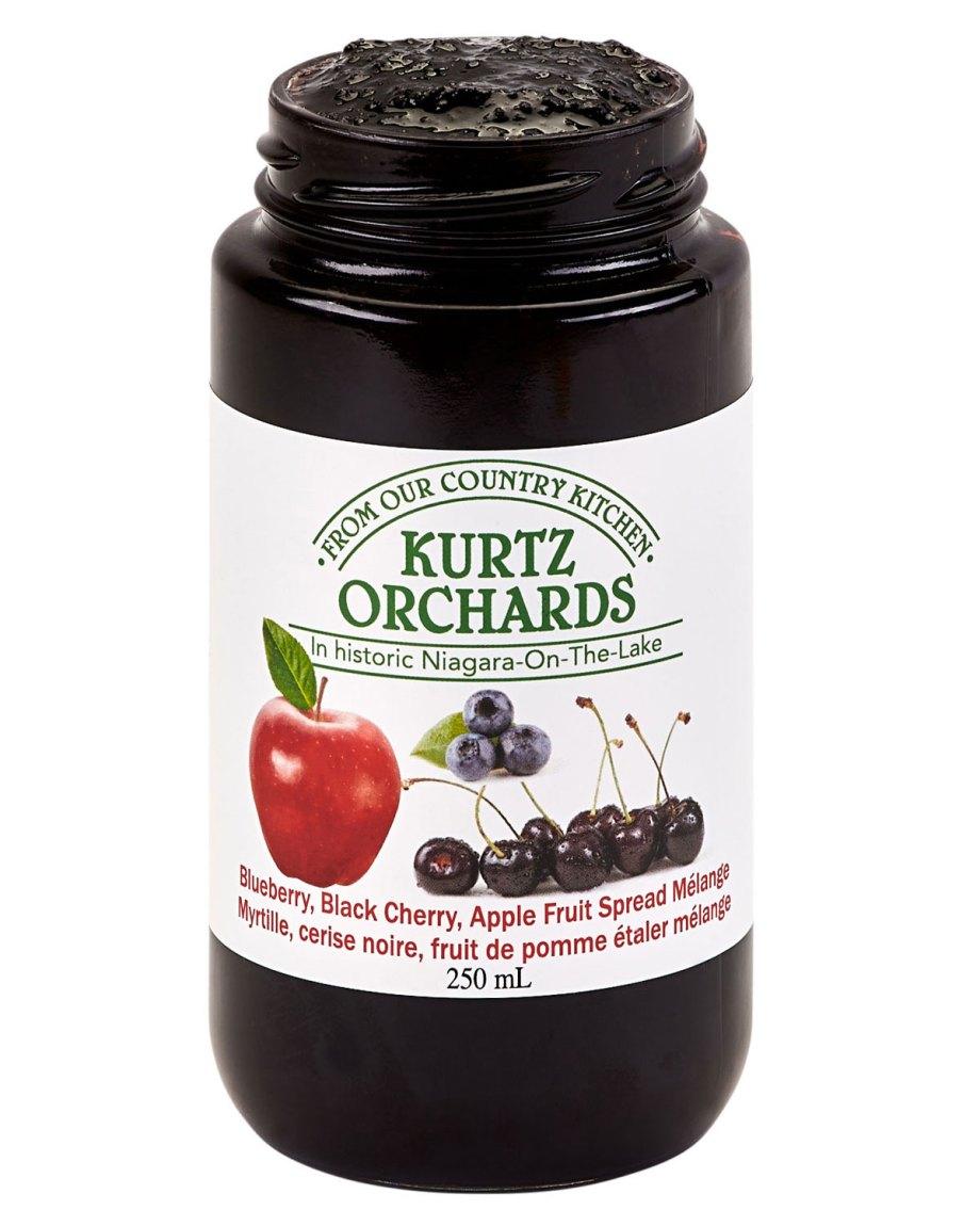 Blueberry, Black Cherry, Apple Fruit Sauce
