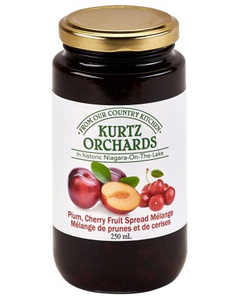 Plum, Cherry Fruit Spread Melange