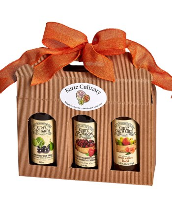 Fruit Sauce Trio Gift Collection