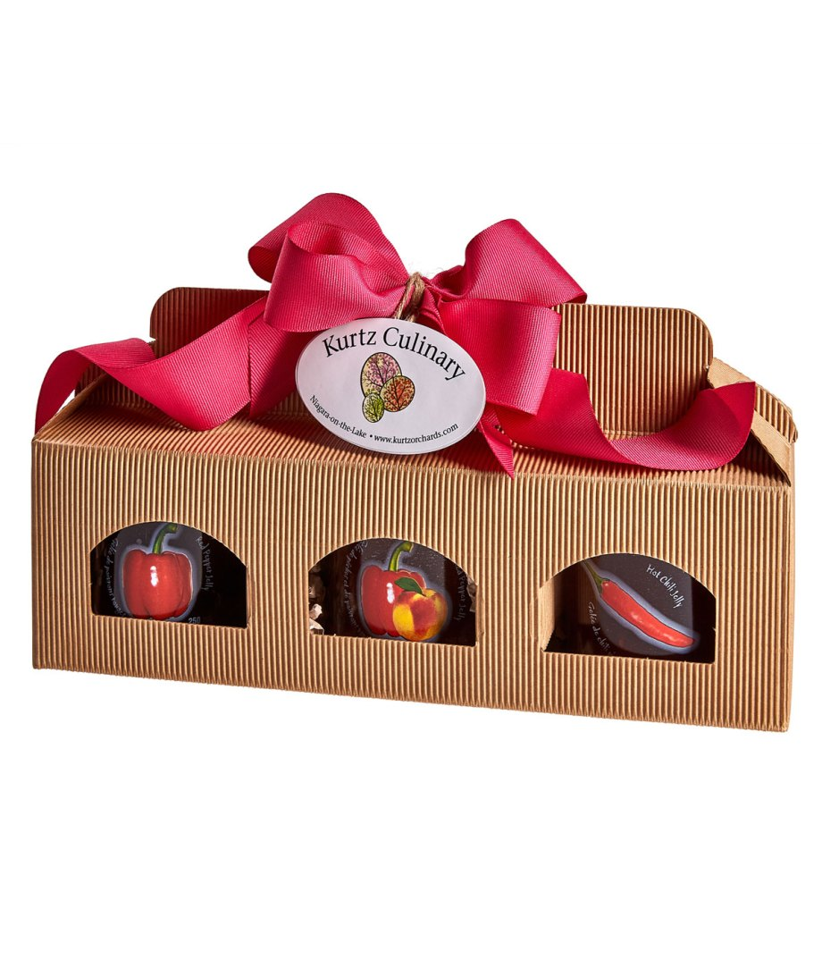 Pepper Jelly Trio Gift Box