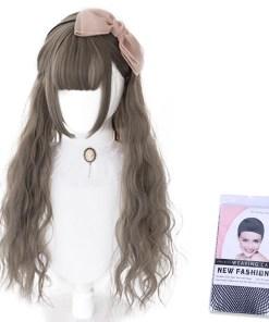 Kawaii Light Brown Lolita Wig