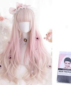 Kawaii Lolita Strawberry Blond Wig