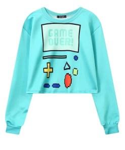 Cute BMO Adventure Time Sweatshirt