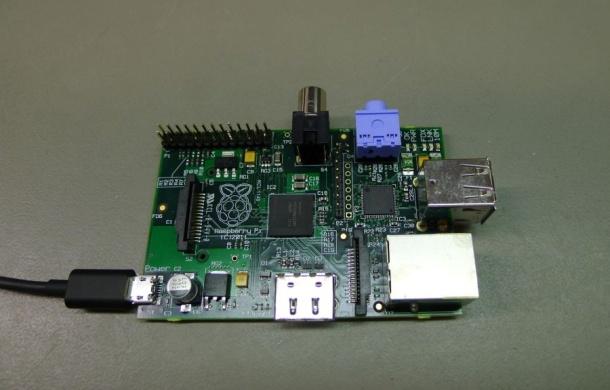 Foto do protótipo Raspberry Pi