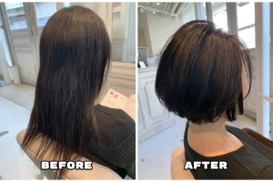 加齢で縮毛矯正ロングの綺麗が維持できなくなってきた方のもう一つの選択肢【実例 #21】