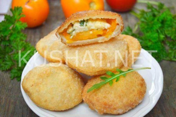 Пирожки «Бомбочки» с помидорами и сыром. Пошаговый рецепт ...